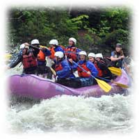 penobscot river white water rafting